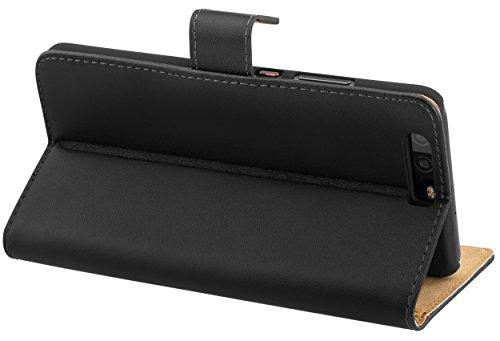 Tasche Bookstyle Case kompatibel mit Huawei Y5 II Hülle Handytasche Case Wallet, schwarz - 3