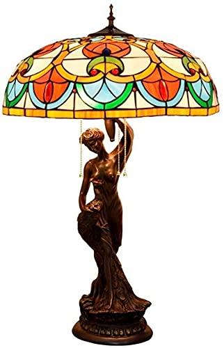 FHUA Lámpara Escritorio Lujo Creativo Europeo Estilo lámpara de Mesa Hotel Bar salón Restaurante recepción decoración Gran Belleza decoración lámpara de Mesa 50 * 81 cm