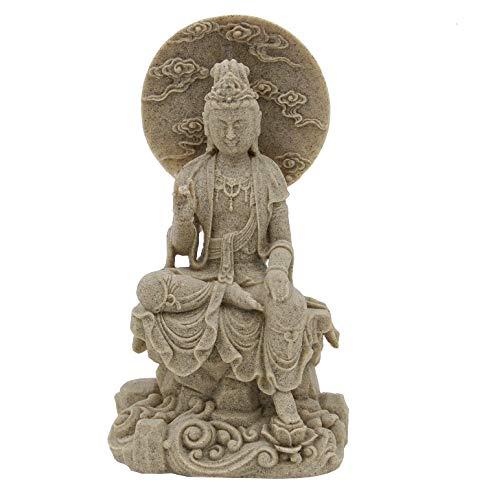 DharmaObjects Kuan Yin Quan Yin Statue Female Buddha Blessing 8 Inches Tall (Kuan Yin 1)
