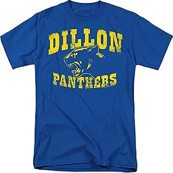 Friday Night Lights Dillon Panthers NBC T Shirt & Stickers  Royal Blue  Small