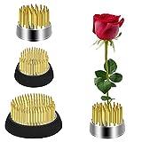 LUTER 3 Pzs Rana de Flores Arreglo de Florero Redondo para Arreglos Florales, Jardín, Hotel y Decoración del Hogar