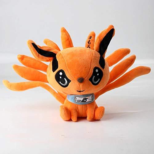 HUIQI 17cm Anime Shippuden Fox Juguetes de Peluche muñeca Lindo Uzumaki Kyuubi Kurama Nueve Cuentos Fox Juguetes de Peluche Regalo para niñas niños