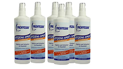 Hygiene-Spray, 6er Pack (6 x 250 ml)