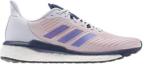 Adidas Solar Drive 19 M, Zapatillas Running Hombre, Rosa (Dash Grey/Boost Blue Violet Met./Tech Indigo), 42 EU