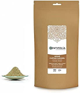 CENTIFOLIA - Henna Chestnut-brown Caramel - Give caramel highlights to light brown hair - More resistant and shiny hair - ...