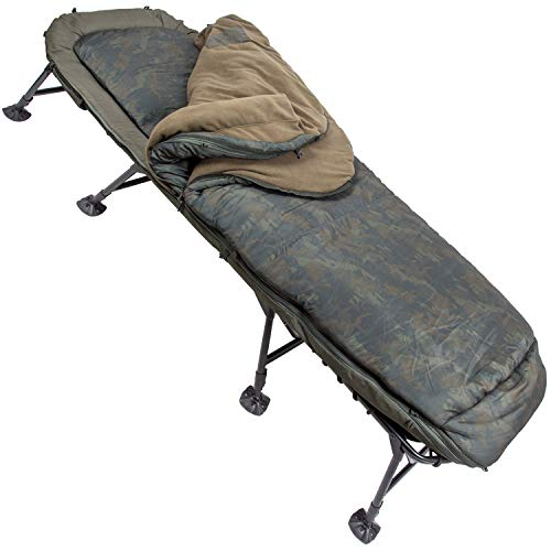 Nash Indulgence SS3 5 Season Wide Bedchair Angelliege incl. Schlafsack