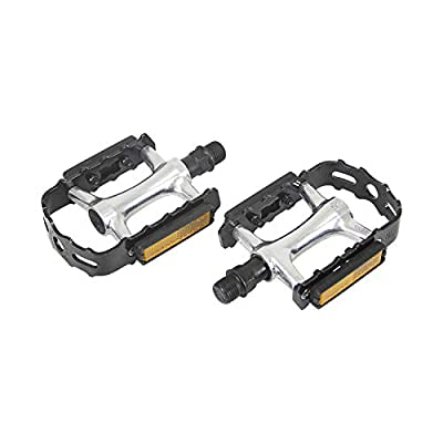 Wellgo C285DU-AL Alloy Bike Pedals for Performance Road and Fixed Gear Bicycle