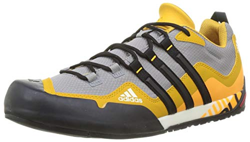 adidas Terrex Swift Solo, Zapatillas de Hiking Hombre, Gritre/NEGBÁS/OROLEG, 41 1/3 EU