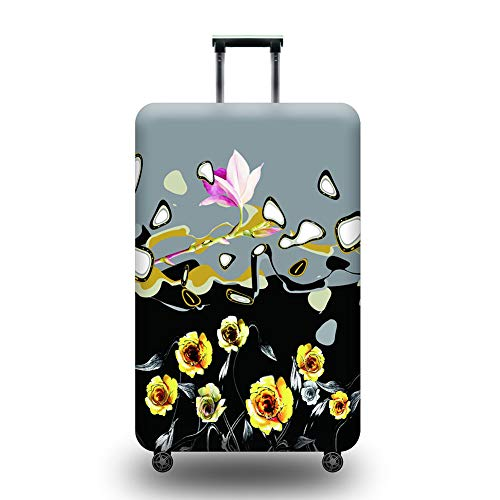 LDIW Bagage Cover Koffer Cover Elastische Trolley Case Beschermende Cover Polyester spandex stof Beschermende Cover Past 18-32 Inch Koffer Medium Kleur4