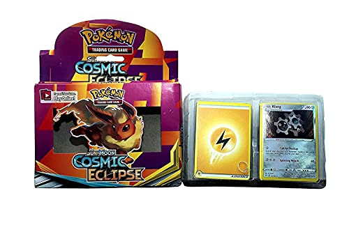 PRIMIL Poke-mon Playing Cards Game Sun & Moon-Cosmic Eclipse Cards for All Ages