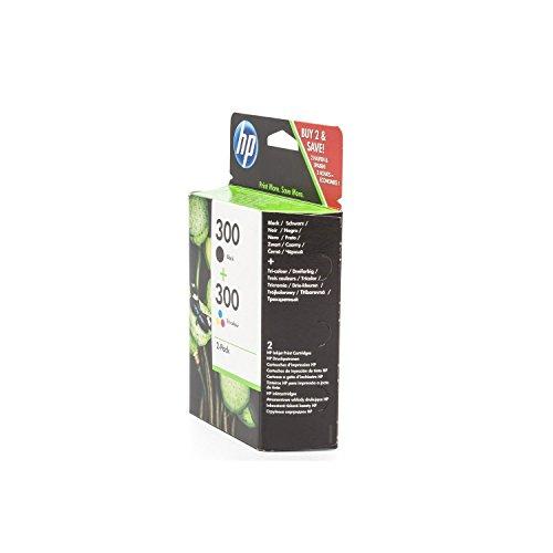 HP Cartucho de tinta HP nº 300CN637EE Negro + Colores