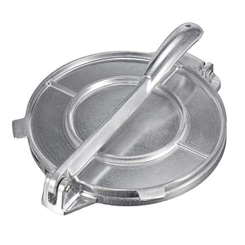 MERIGLARE Tortillero Prensa, Prensa de Hierro Resistente para Tortillas mexicanas Máquina de Tacos Mini, quesadillas, roti, Pancakes y rollitos de 16.5cm/6.50pulgada