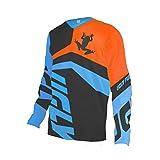 Uglyfrog 2020 Downhill Trikot Herren Lange Ärmel Mountainbike Freeride BMX Fahrradtrikot Motocross...