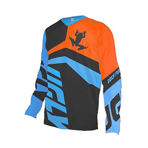 Uglyfrog 2020 Downhill Trikot Herren Lange Ärmel Mountainbike Freeride BMX Fahrradtrikot Motocross MTB/Downhill Bekleidung