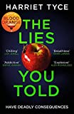 The Lies You Told: The unmissable thriller from the bestselling author of Blood Orange (English Edition)