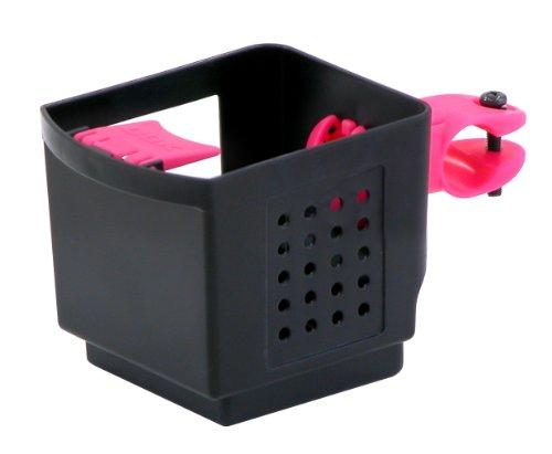 OGK ドリンクホルダー PBH-003 黒ピンク