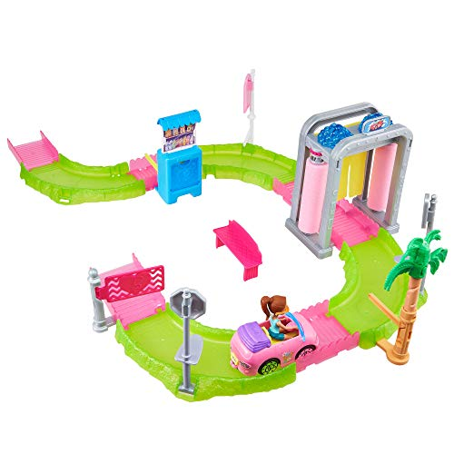 Barbie FHV91 On The Go Waschanlage Spielset, Multicolour