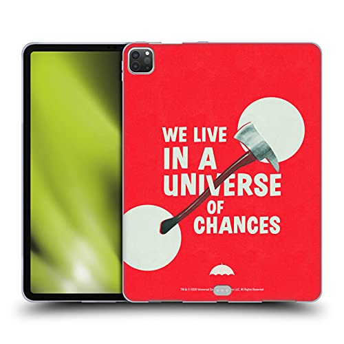 Head Case Designs Officieel Gelicentieerd The Umbrella Academy Axe Season 2 Graphics Soft Gel Case compatibel met Apple iPad Pro 12.9 (2020/2021)