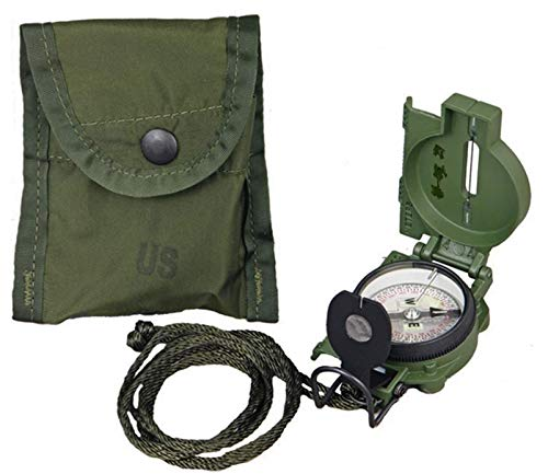 US MILITARY ISSUE CAMMENGA MODEL 3H LAND NAV MARCHING COMPASS