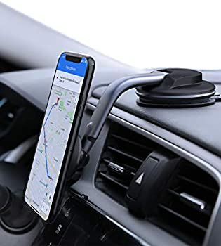 Aukey 360 Degree Rotation Dashboard Magnetic Cell Phone Holder for Car