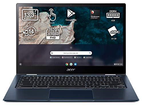 Acer Chromebook Spin 513 CP513-1H - Ordenador Portátil táctil convertbiel 13.3