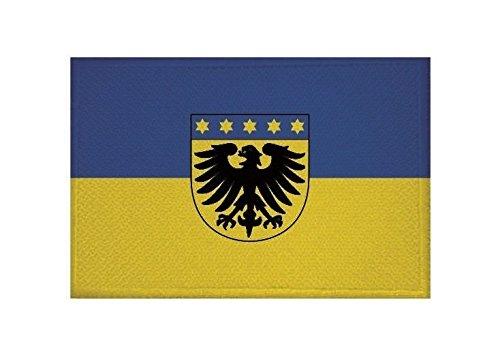 U24 Aufnäher Markgröningen Fahne Flagge Aufbügler Patch 9 x 6 cm
