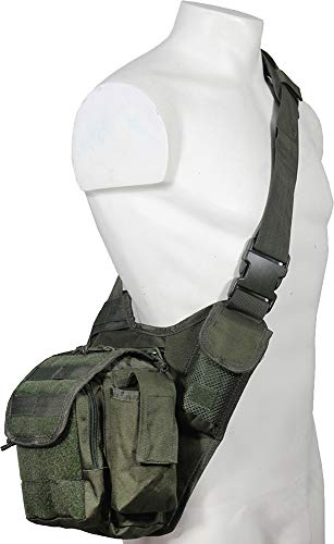 Mil-Tec Sling Bag Multifunction Oliv