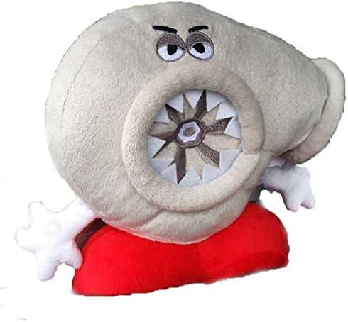 NOS Turbo Travel Headrest Pillow Backrest Travel Pillow Cool Memory Foam Car Decor Plush Neck product image
