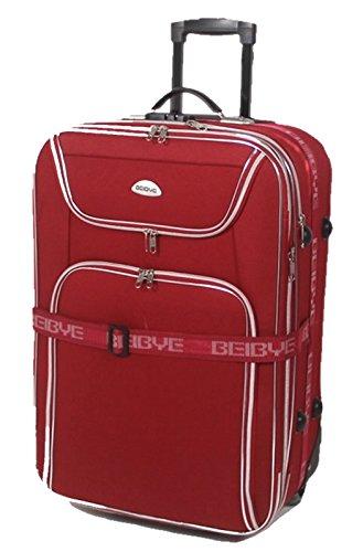 Maleta de viaje desconocida, tamaño XXL: 100/125 litros, 76 x 48 x 30/35 cm, plegable, correa para maleta.