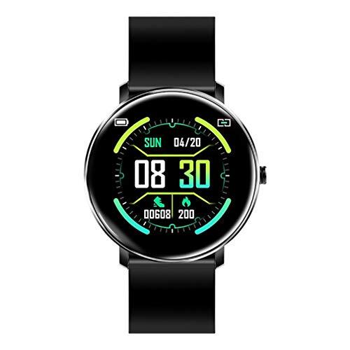 Baiyi Smartwatch voor dames, met bluetooth-bericht met bloeddrukreminder, hartslagmeter, smartwatch