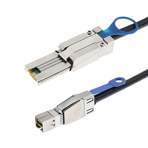 Gazechimp Mini SAS SFF 8644 Bis Mini SAS SFF 8088 Externes Kabel Für SAS Expander - Schwarz 1M
