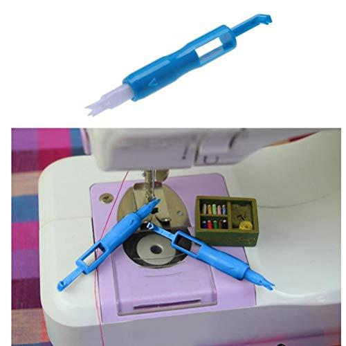 Oulensy Herramienta de inserción de sutura 1pc enhebrador de Costura de la Herramienta de Threader Manual de la máquina de Coser de la Aguja para inserción de Agujas