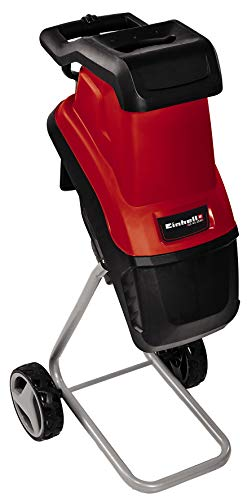 Einhell Electric Shredder GC-KS 2540 (2 Reversible Blades Made of Special Steel, Large Funnel...