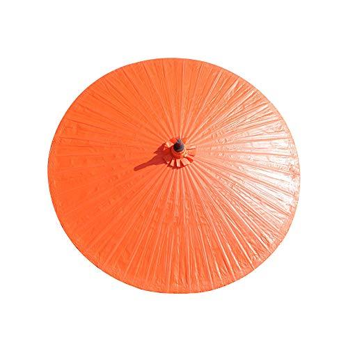 patio umbrella Sombrillas Playa Bambú Proteccion UV Sombrilla Parasol Jardin 2m Mpermeable 36 Costillas De Bambú Sombrilla De Jardín Decoración Vintage/Sin Base/con Funda De Paraguas
