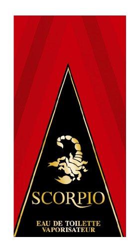 Scorpio rot–Eau de Toilette für Herren–Vaporisateur/Spray–75ml