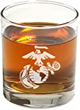 US Marine Corps Whiskey Glass (Set of Two)...