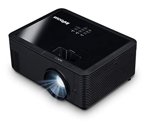 InFocus IN2134 DLP XGA 4500 Lumens, 1.3X Zoom, 3X HDMI, VGA, 3D and Wi-Fi Ready TechStation Projector