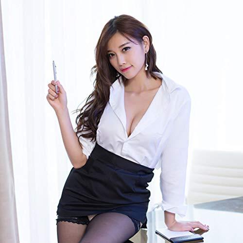Sexyhot 女教師 秘書 OL コスチューム セクシースーツ ストッキング付属 3点セット