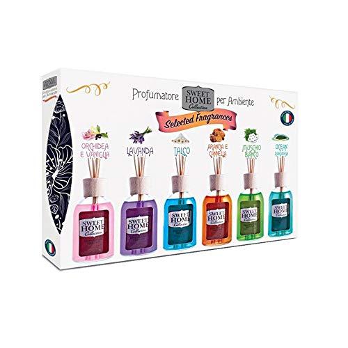Suarez Sweet Home Collection Set Profumatori Per Ambienti Selected Fragrances 6x 30 Ml