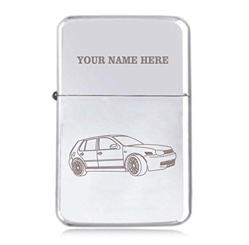 Sturmfeuerzeug, Benzin, Design: VW Golf MK4GTI, personalisierbar