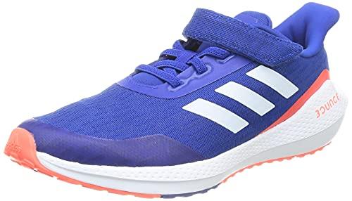 adidas EQ21 Run EL K, Zapatillas de Running, AZUREA/FTWBLA/Rojsol, 36 2/3 EU