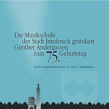 Günther Andergassen zum 75.Geburtstag, Vol. 1