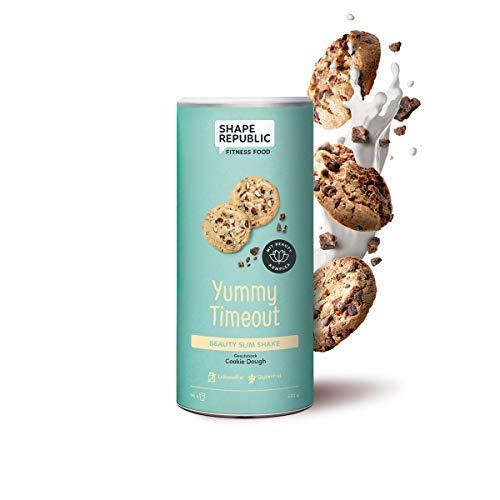 Shape Republic Beauty Slim Shake Cookie Dough (420g), Diätshake zum Abnehmen, Reich an wichtigen Nährstoffen