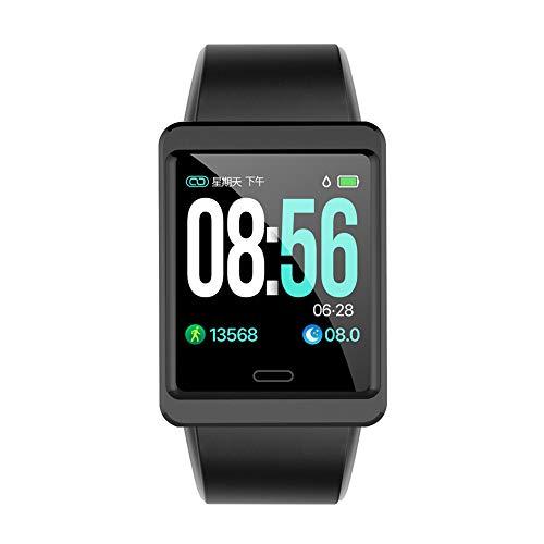 Oolifeng Activiteitsarmband met stappenteller, waterdicht en smartwatch, slaapbewaking, bloeddruk, voor dames, heren en kinderen