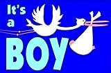 Fahne Flagge It´s a Boy Geburtsfahne Grösse 1,50x0,90m - FRIP –Versand®