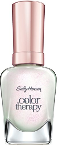 Sally Hansen Color Therapy Nagellack, 491 Opulent Pearl, sofort pflegender Farblack mit glänzendem...