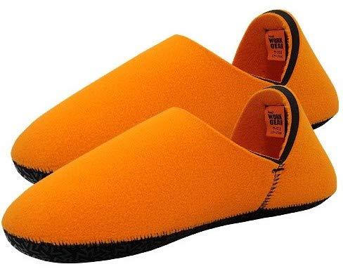 2309 遠赤 ネオプレーン ルームシューズ オレンジオレンジ L 室内履き あったか スリッパ 冬