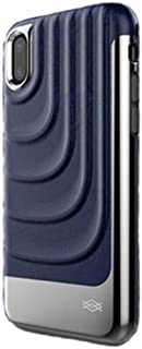 X- Doria Spartan Back Hard Cover For Apple Iphone X, Blue