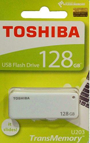 Toshiba USB2.0 Flash Drive 128GB USB 2.0 Flash Disk TransMemory U203 Yamabiko USB Memory Stick