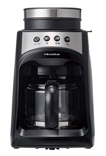 レコルトグラインドアンドドリップコーヒーメーカーフィーカ[ブラック/RGD-1]recolteGrind&DripCoffeeMakerFIKA